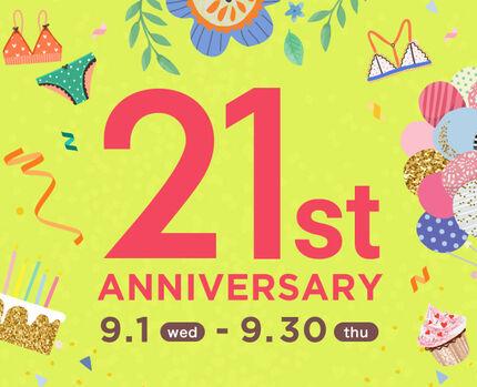 【注目】21st Anniversary