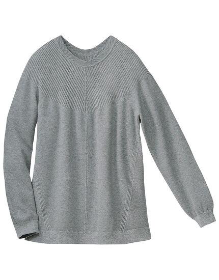 編地切替セーター, , main