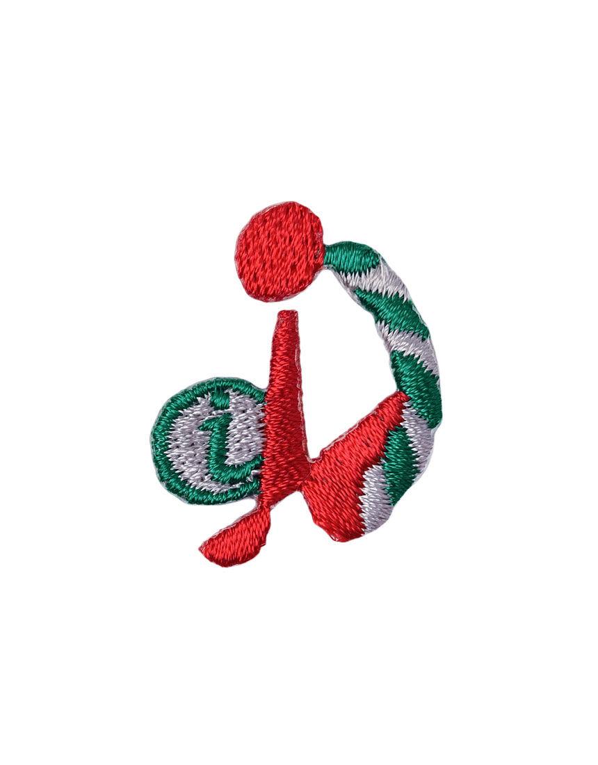 アルファベット i アップリケ