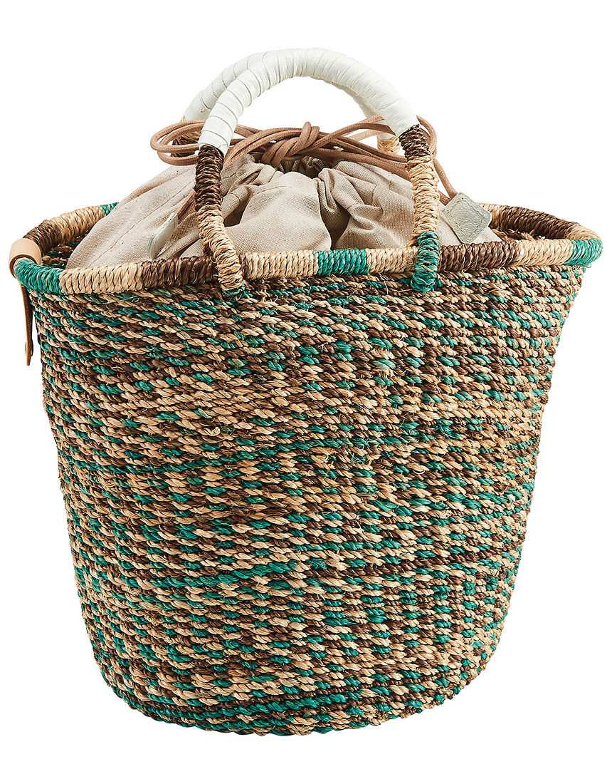 アバカのカラフル編みバッグ, , hi-res
