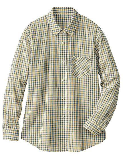 先染チェックシャツ, , main
