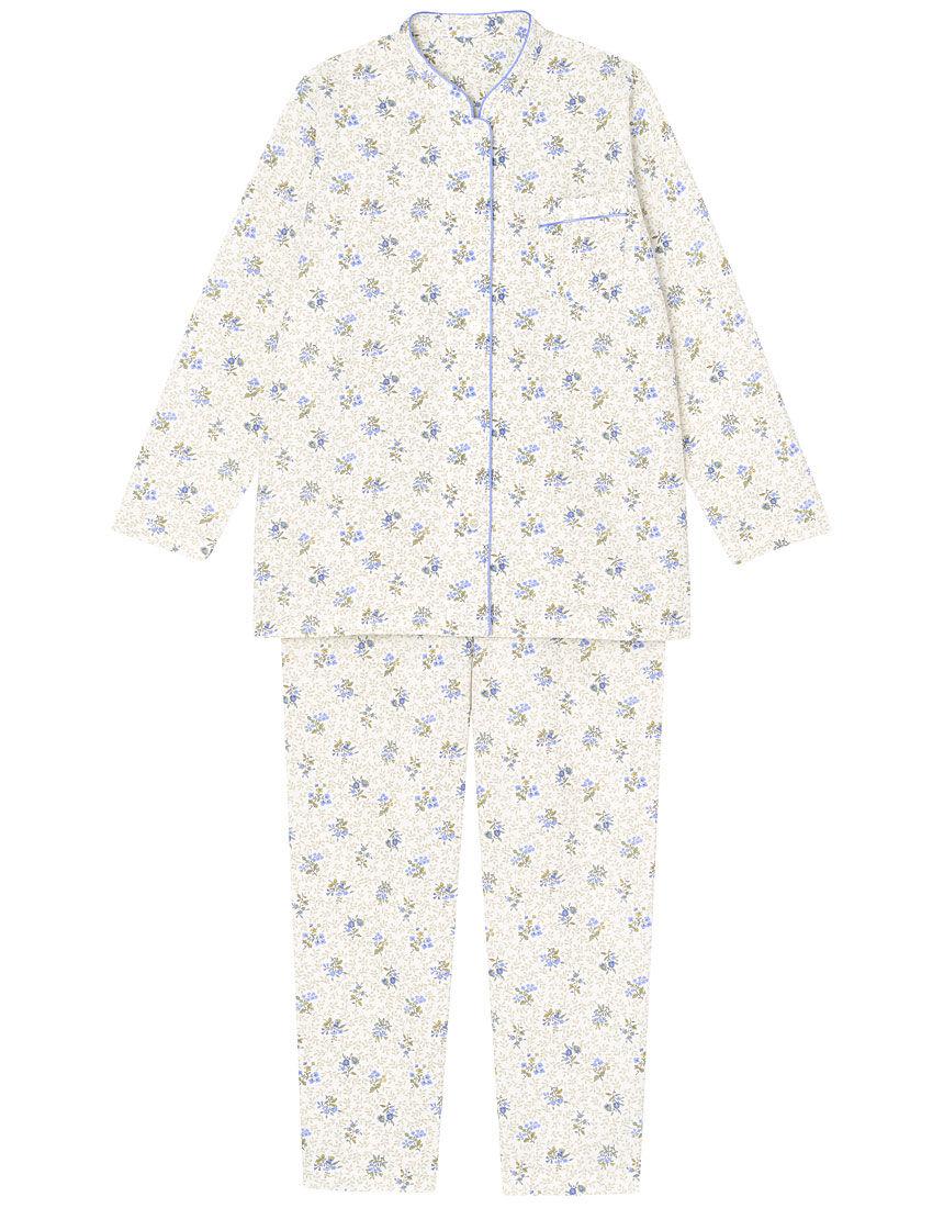 【肌側綿100%】【あったか】ミニョン柄 パジャマ