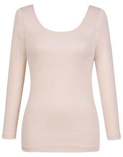 肌側オーガニックコットン100% 【綿の贅沢オーガニック】 トップス(8分袖)