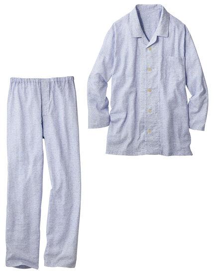 二重ガーゼのパジャマ(男性用), , main