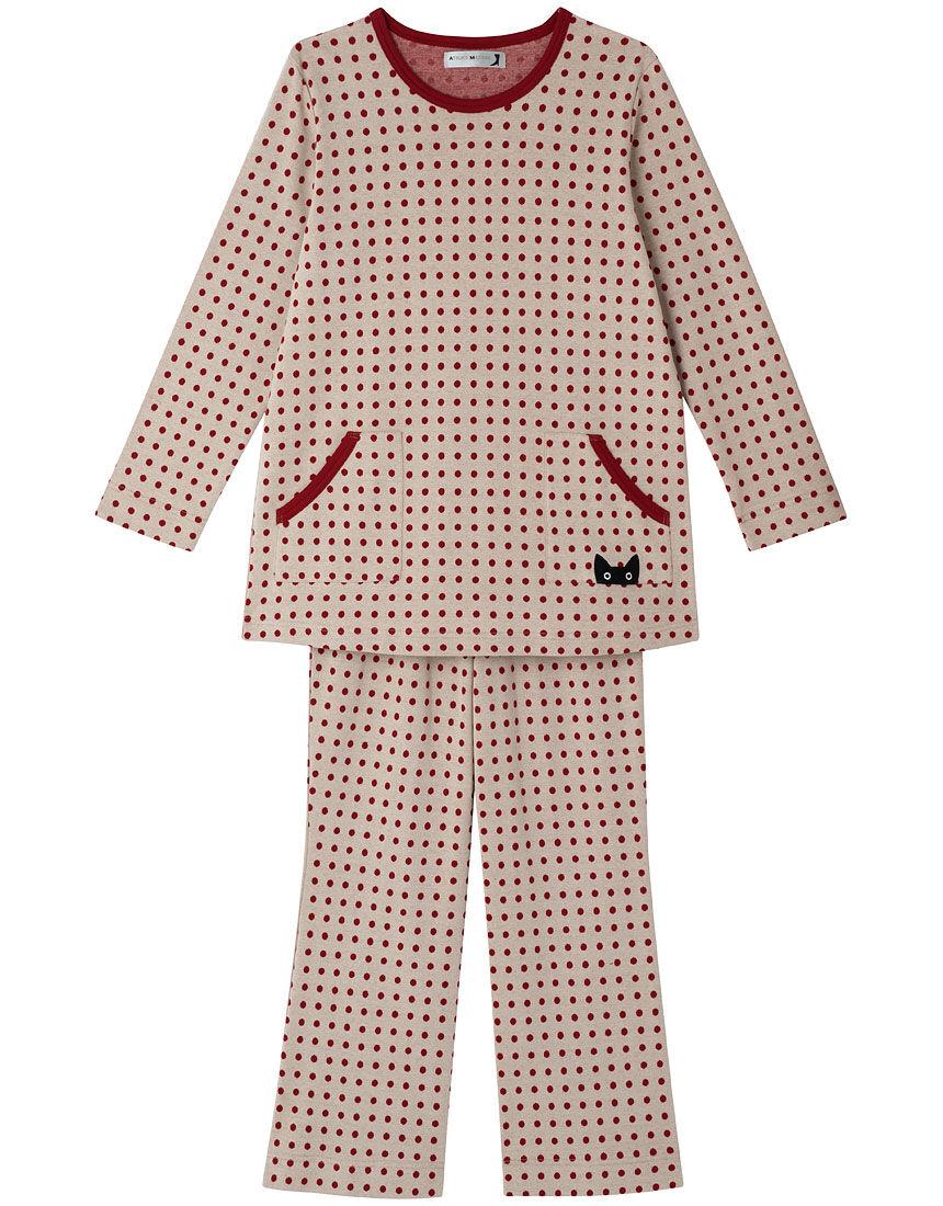 パジャマ(裏起毛), , hi-res