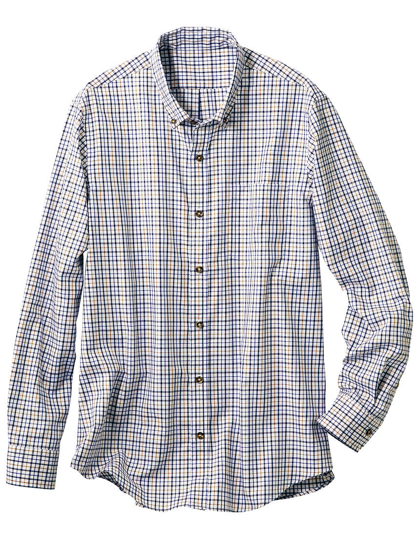 コットンボタンダウンシャツ(男性用), , hi-res