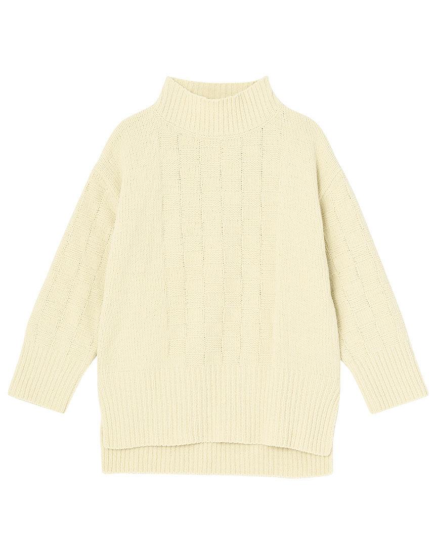 モコモコルーム ichimatsu knit トップス