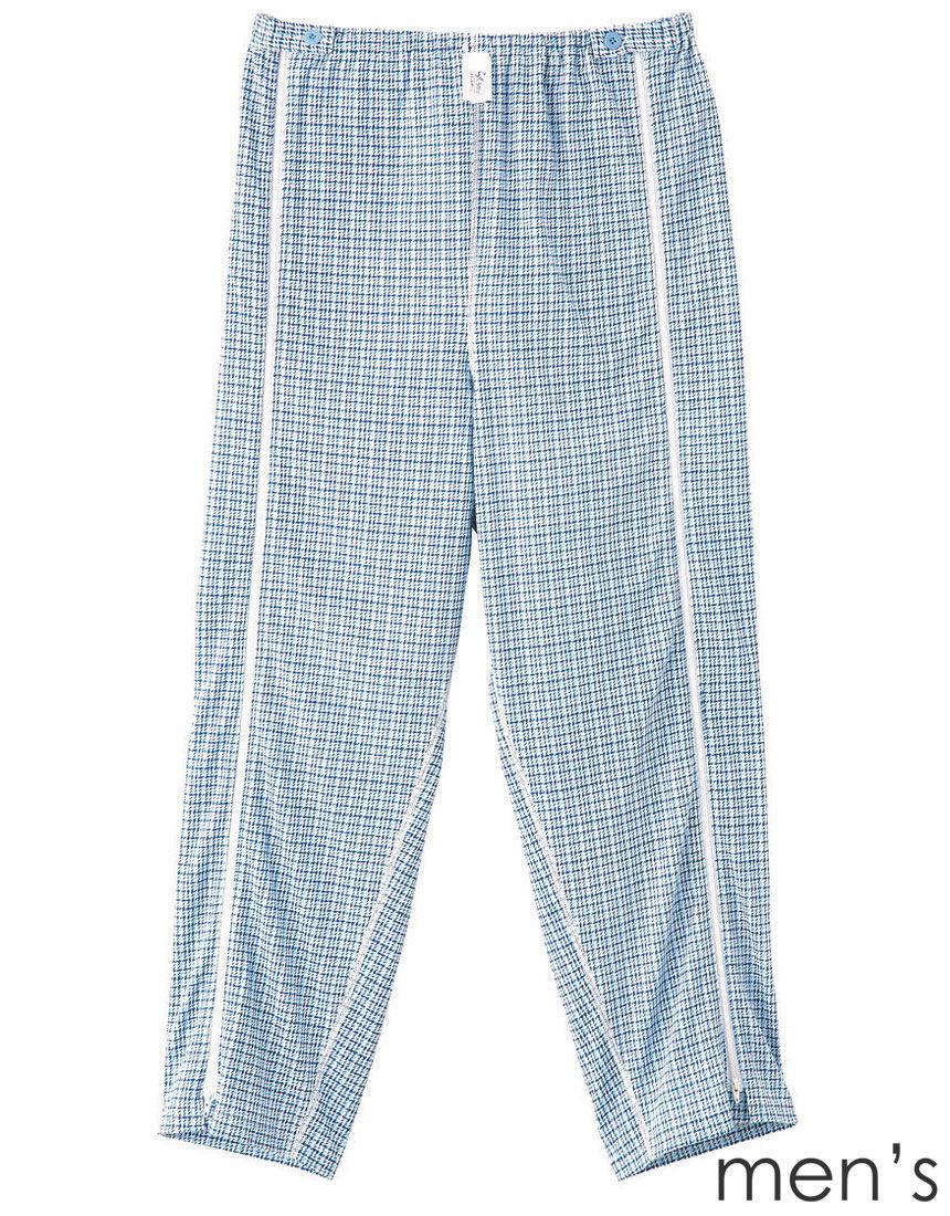 紳士全開パジャマ下【長ズボン・ファスナー】 メンズパジャマ