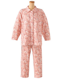 【長袖・エッグボタン(R)】  パジャマ