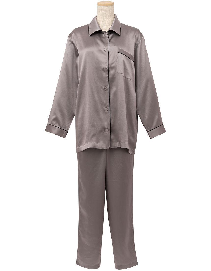 シルクサテン パジャマ