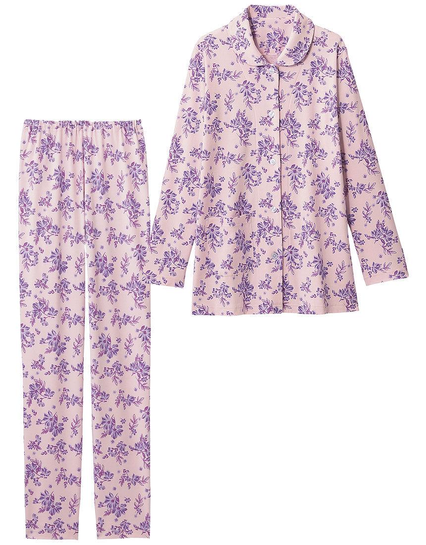 なめらか花柄パジャマ
