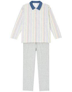 Colorful windowpane メンズパジャマ
