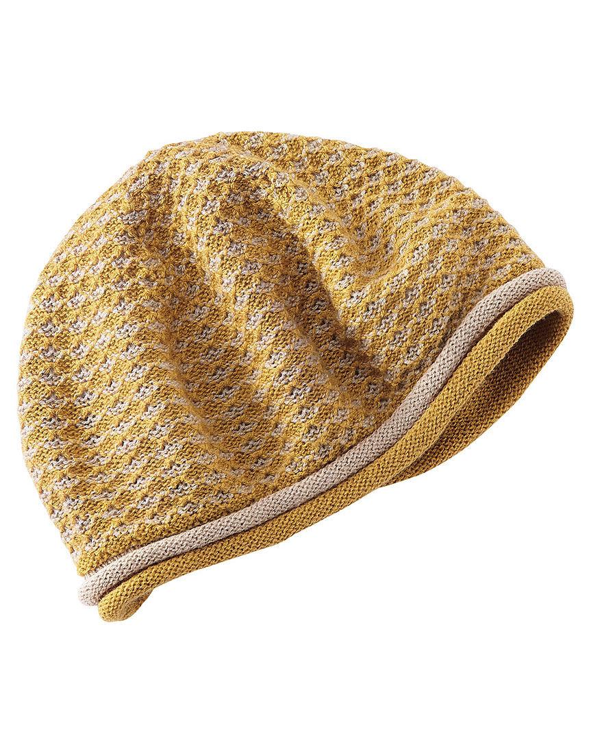洗えるやわらかニット帽