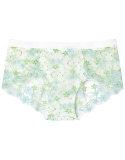 Sunny flower cotton ボーイレングスショーツ