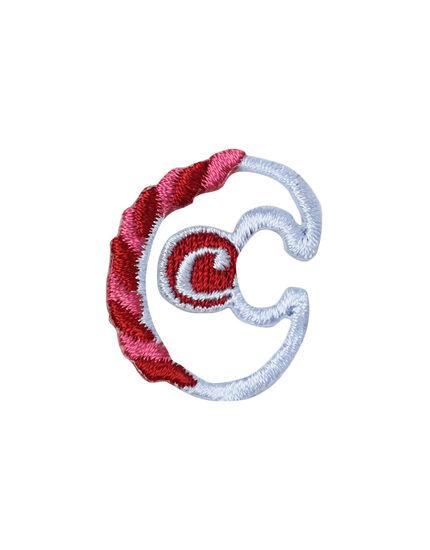 アップリケ アルファベット c, , main