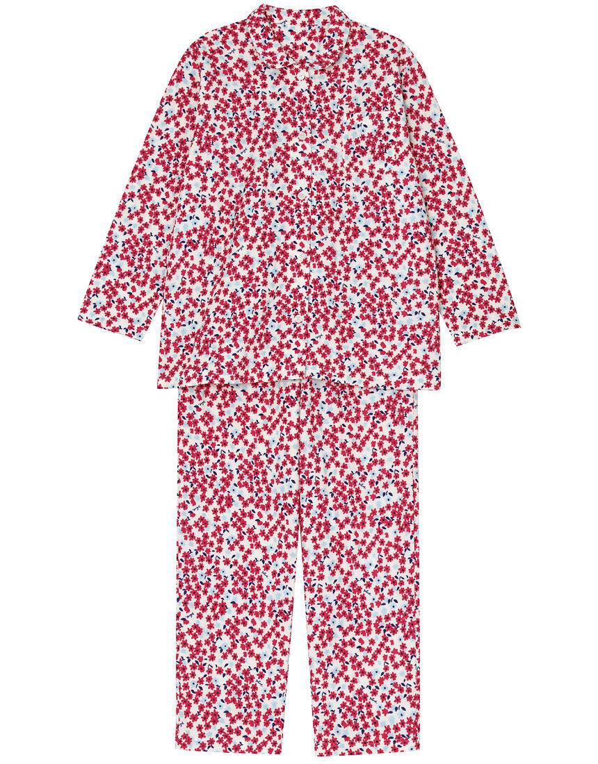【肌側綿100%】小さなキラキラお花柄 パジャマ