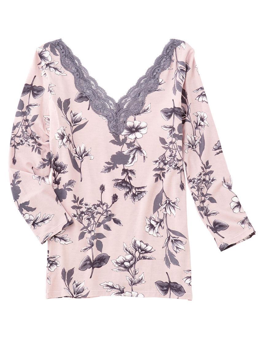 9分袖シャツ, , hi-res
