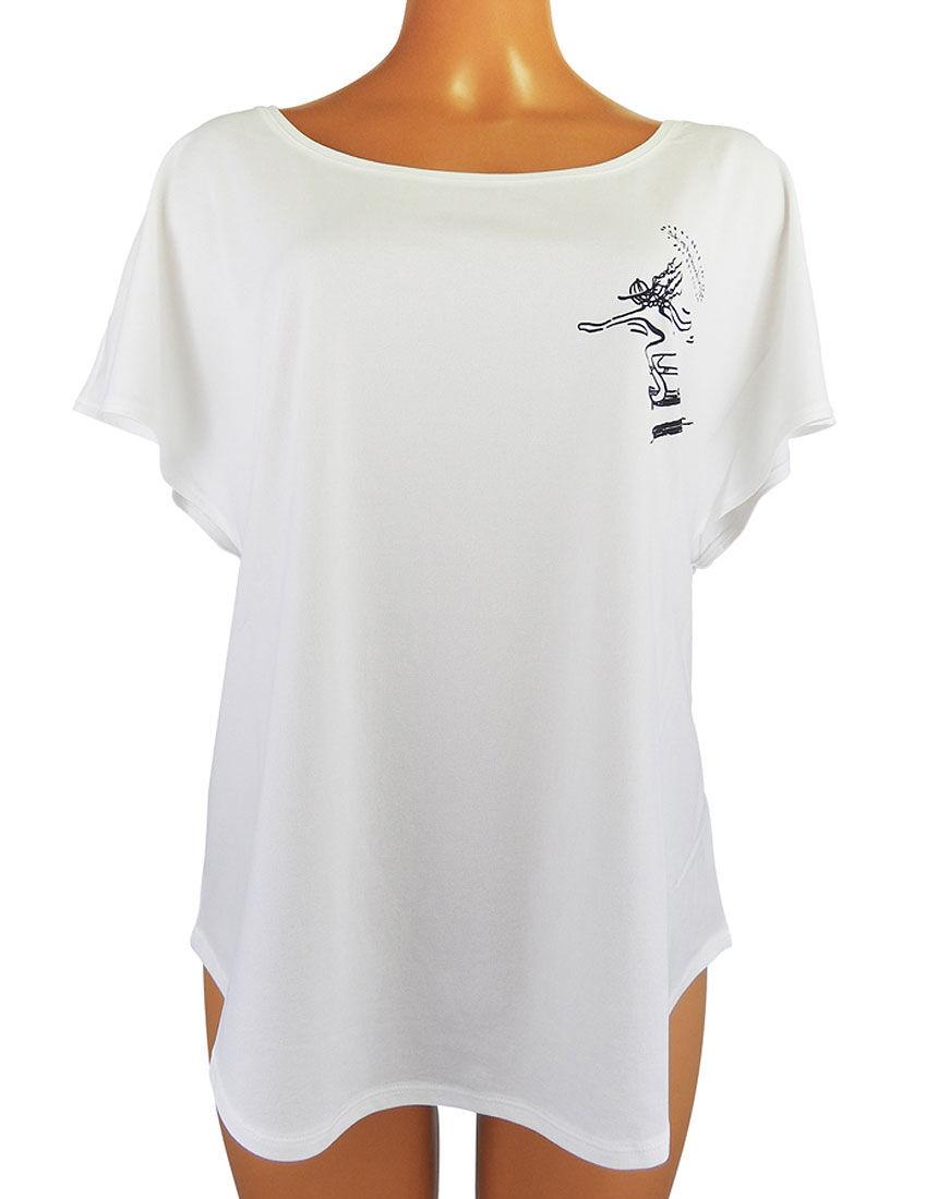 【ルーム/スポーツにおすすめ】バックプリント Tシャツ