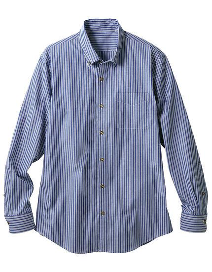 コットンボタンダウンシャツ(男性用), , main