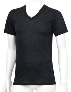 肌さらさら綿100% メンズシャツ(半袖)