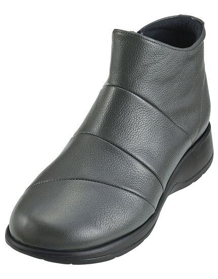 ゆったり牛革撥水ブーツ5E, , main