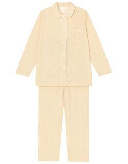 肌感(R)パジャマ【肌側ピマ綿100%】水玉柄 パジャマ