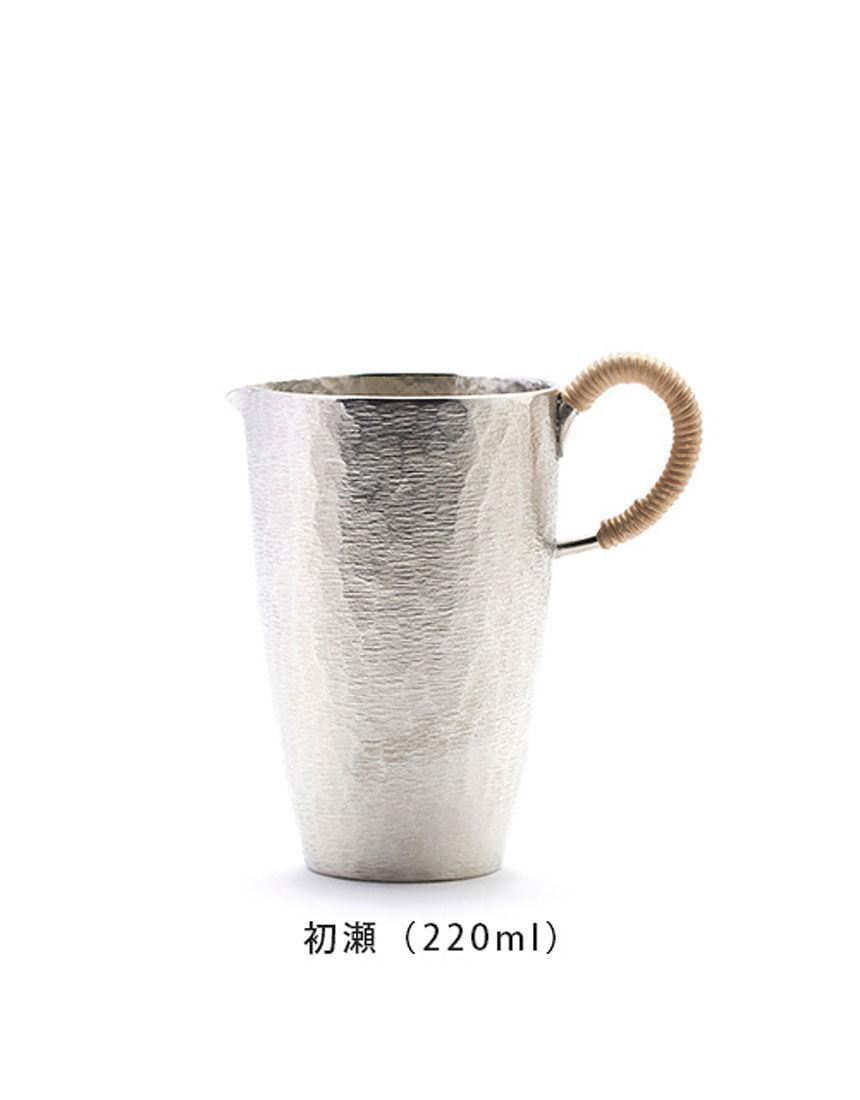 錫でできた焼酎・日本酒のための器【炭谷三郎商店】 千呂利 220ml