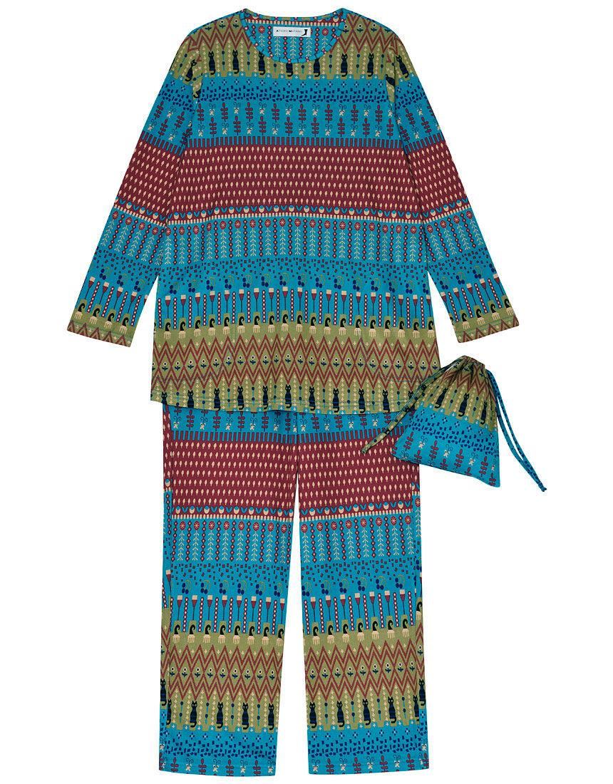 パジャマ(巾着付), , hi-res