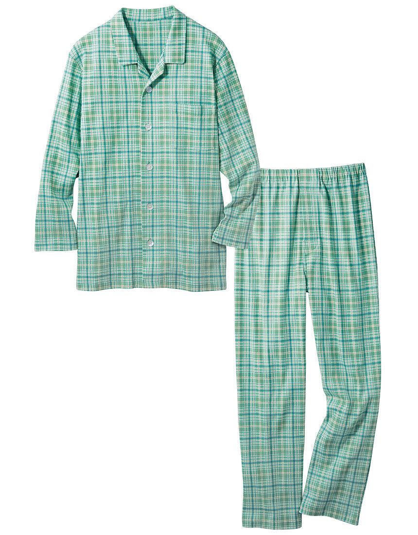 裏起毛のなめらかパジャマ(男性用)