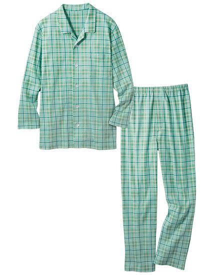 裏起毛のなめらかパジャマ(男性用), , main