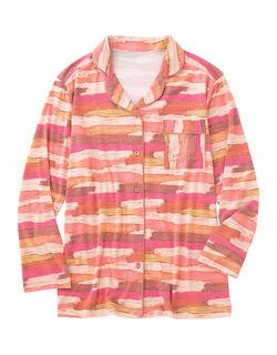PICK&MIX長袖パジャマシャツ ルームウェア