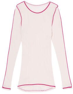 ナナシャツあったかふわふわタイプ トップス(9分袖)