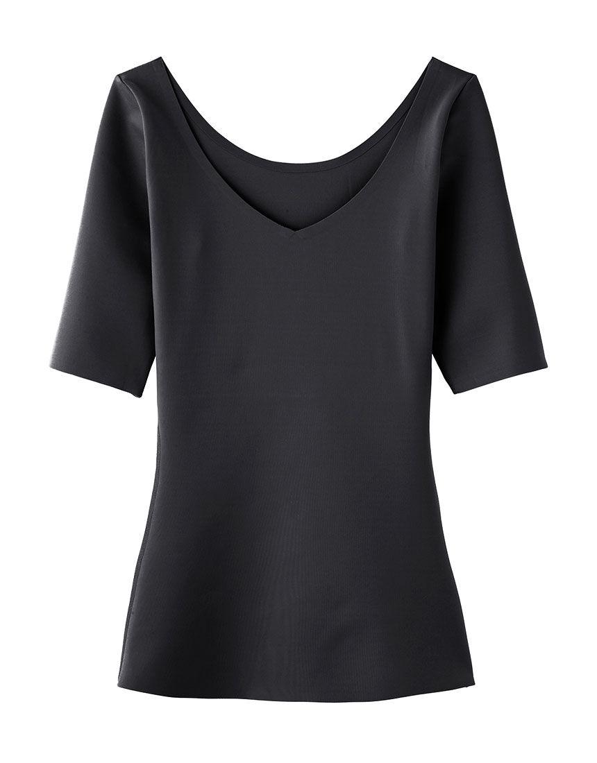 5分袖シャツ, , hi-res