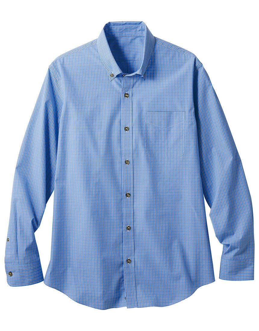 コットンボタンダウンシャツ(男性用)