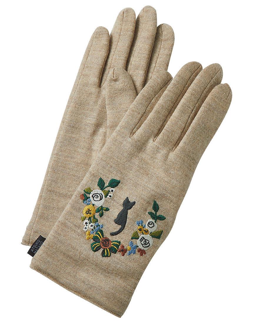 子猫のリース手袋