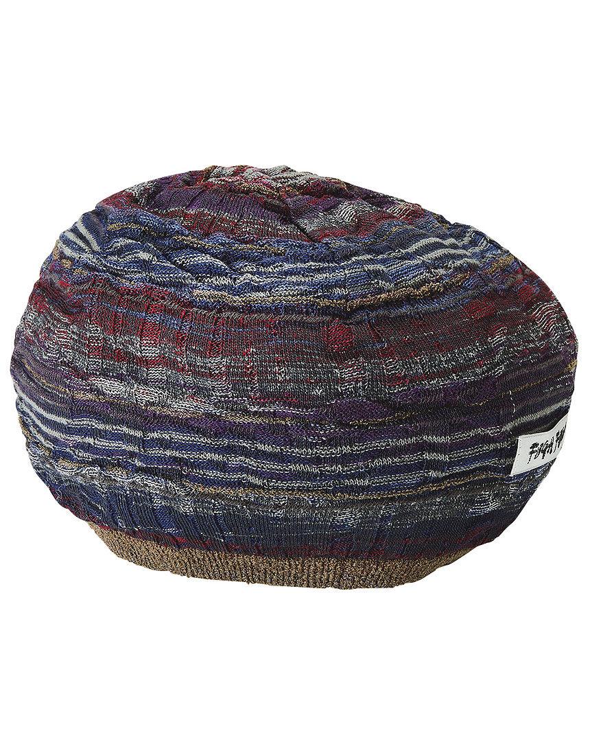 ジャカードニット帽子