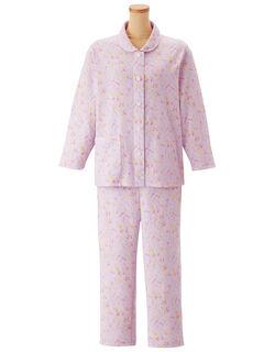 綿100%【長袖・パッチンボタン(R)】 パジャマ