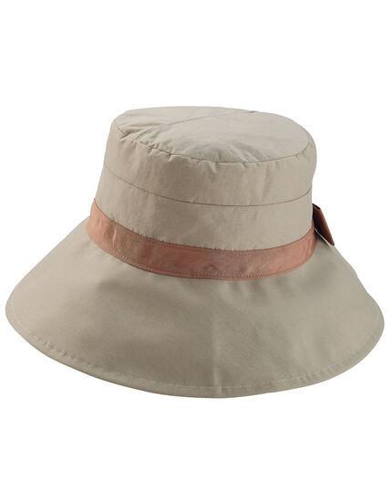 UVカット撥水リボン帽子, , main
