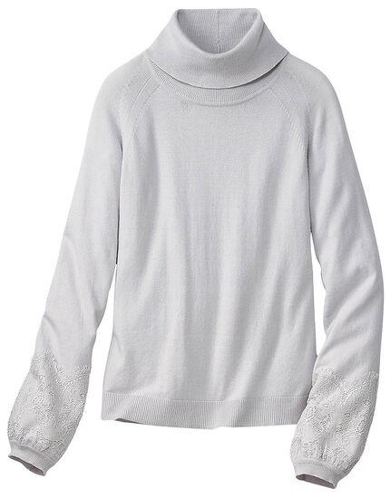 レース使いセーター, , main