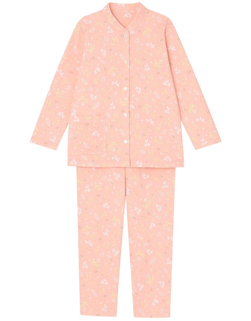 【肌側綿100%】【あったか】ルミナス柄 パジャマ