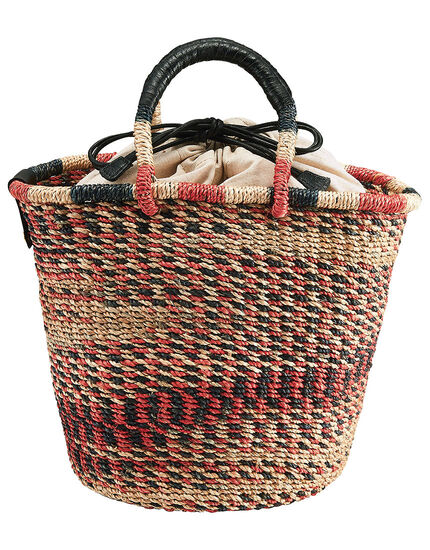 アバカのカラフル編みバッグ, , main