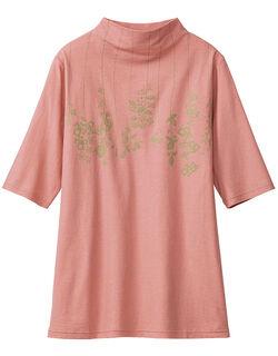 【ひんやり】 ひんやりボトルネックTシャツ