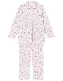 肌感(R)パジャマ【肌側ピマ綿100%】バクスイくん柄 パジャマ