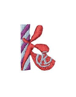 アルファベット k アップリケ