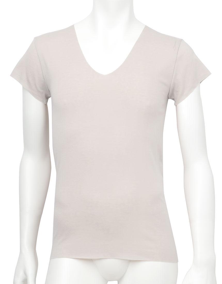 メンズシャツ(1分袖), , hi-res
