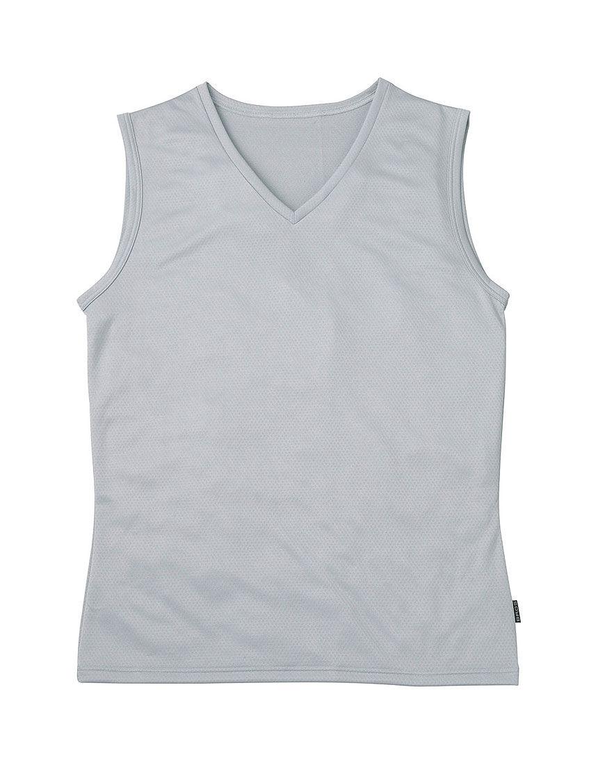 べたつきにくい、さらさらインナー メンズシャツ(タンクトップ)