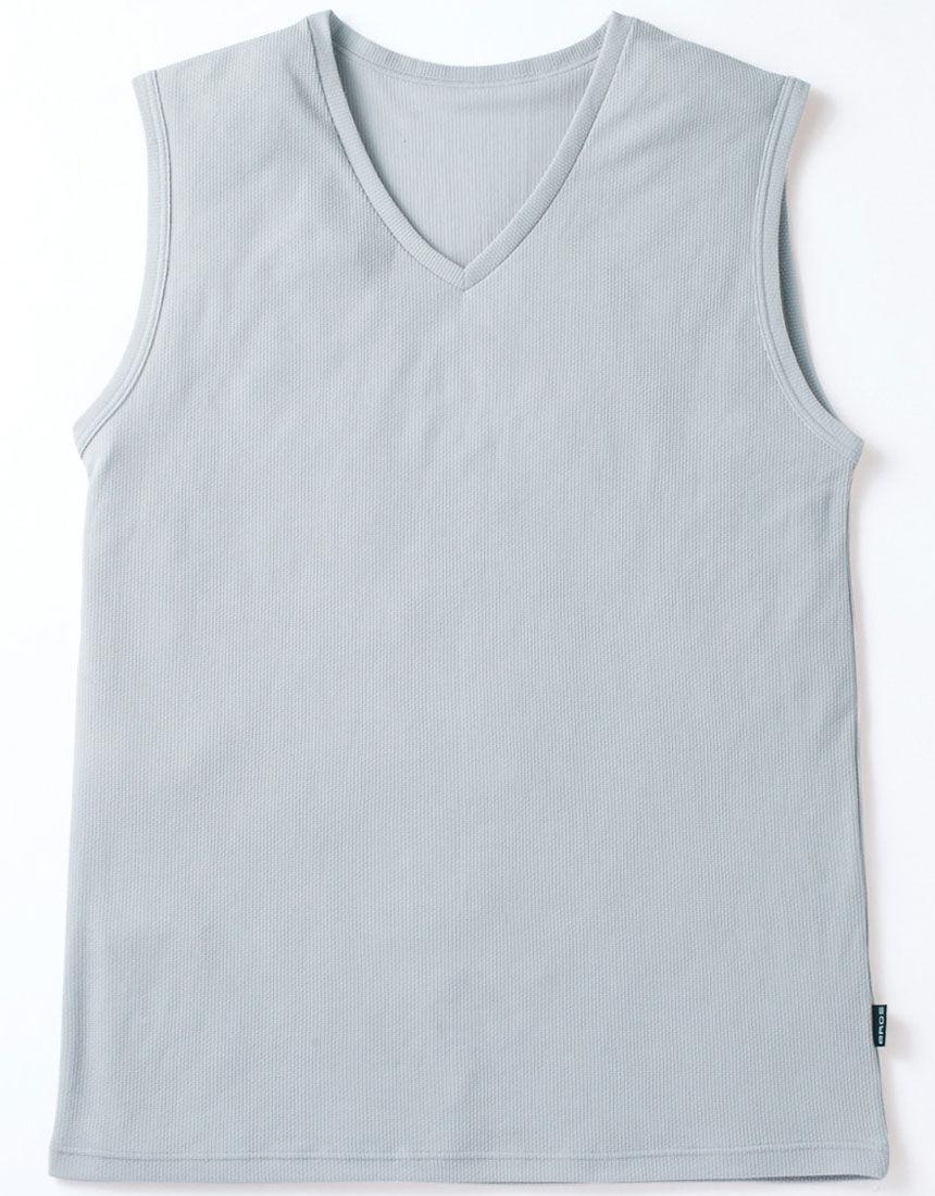 V首スリーブレスシャツ, , hi-res