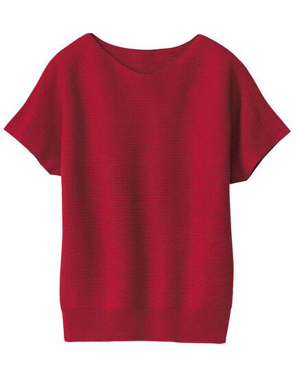 ホールガーメントフレンチスリーブセーター, , main