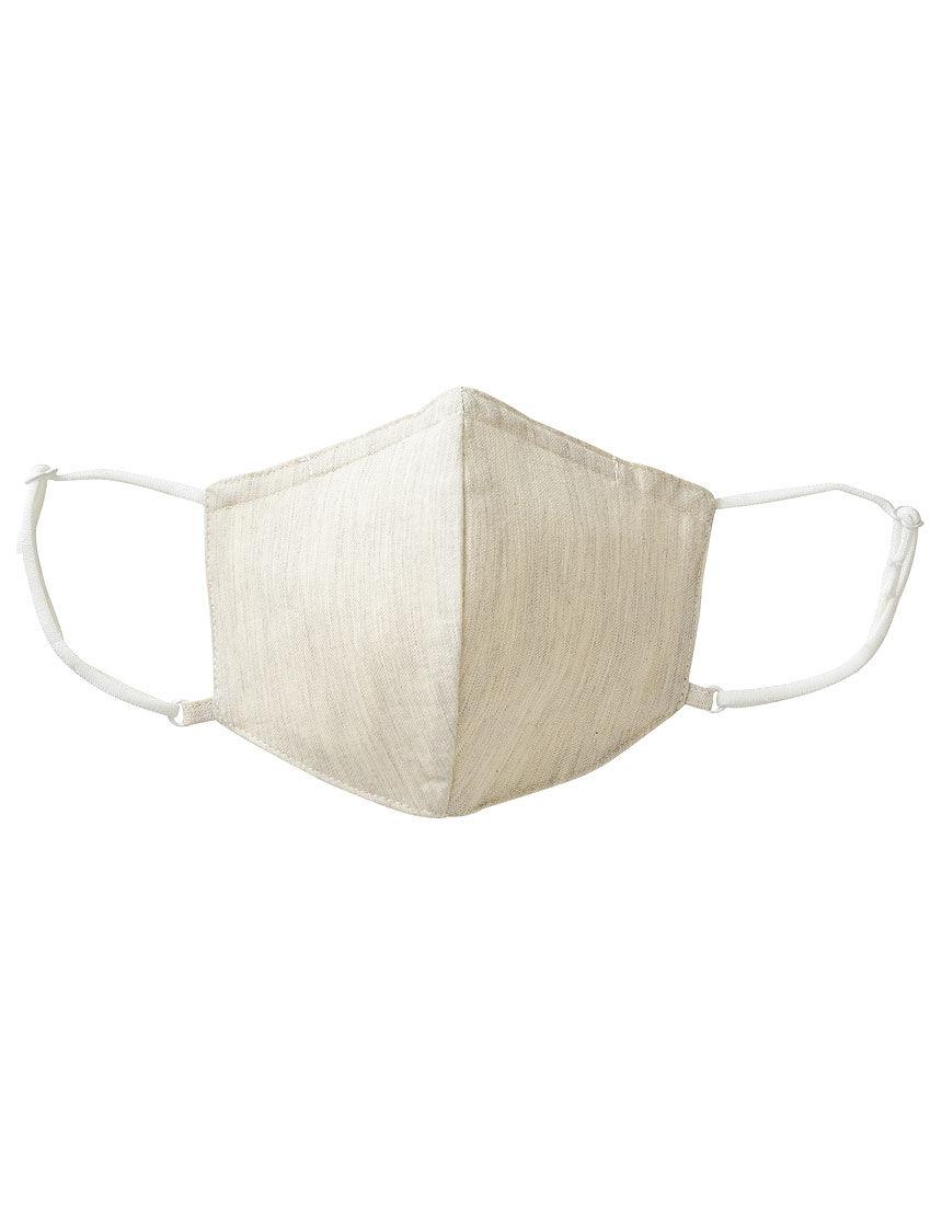 肌側シルク100%のマスク コットン