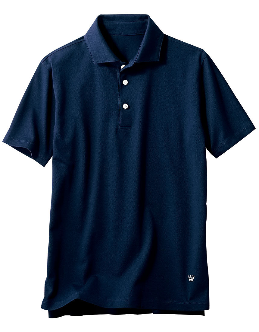 消臭鹿の子シャツ(男性用), , hi-res